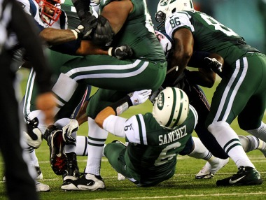 JETS V New England Patriots
